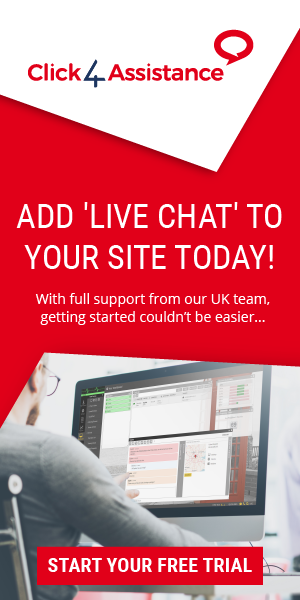 Chat on your website with the Click4Assistance live chat solution.