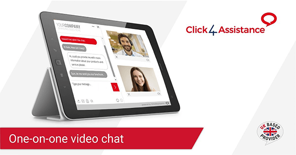 The best live chat provider offers one-on-one video chat.